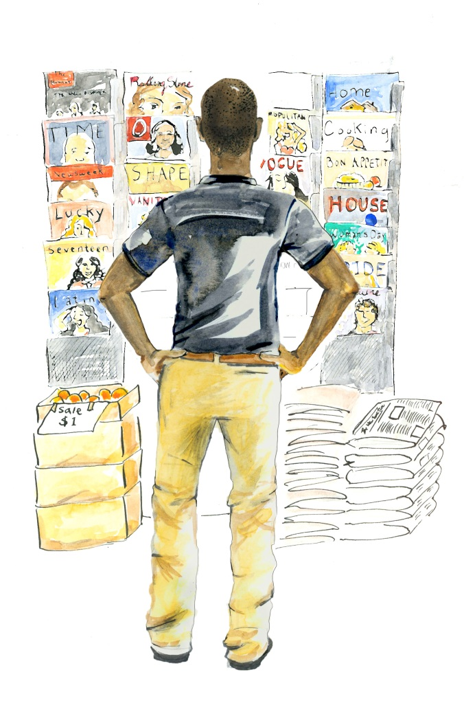 Illustration for The New York Review of Magazines (Spring/Summer 2012)